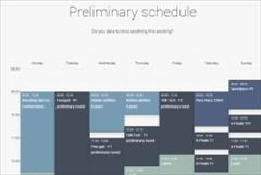 World Championships 2017 time schedule online!