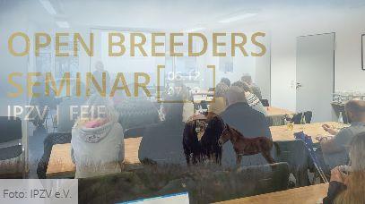 Open Breeders Seminar 2019