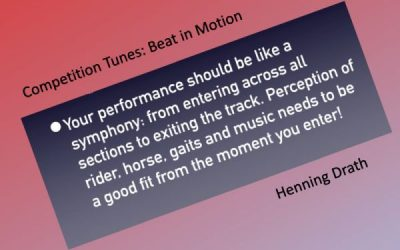 Competition tunes: Beat in Motion