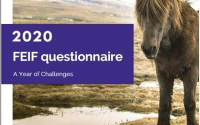 FEIF Questionnaire 2020
