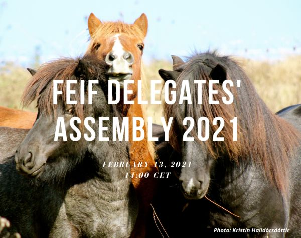 FEIF Delegates' Assembly 2021