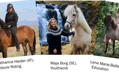 New Young FEIF committee members