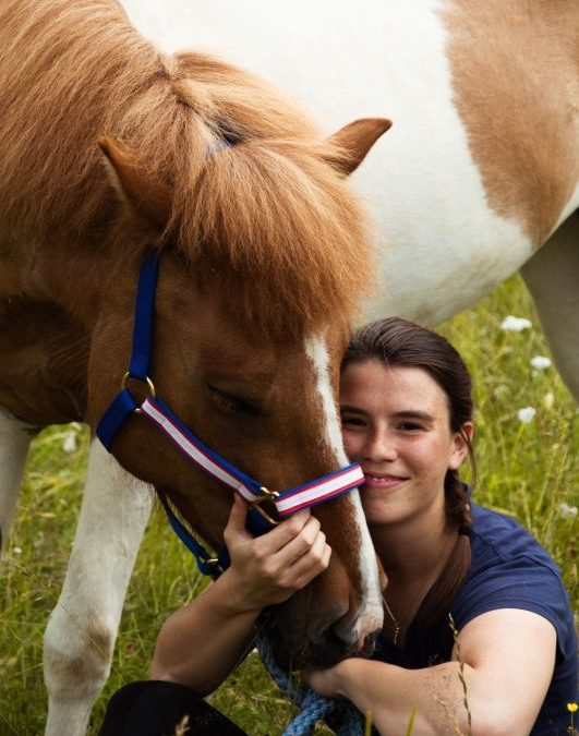 Katharina Haider – young committee member leisure riding